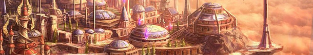 Dalaran City concept art