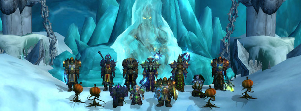 Earthen Pantheon after their first Lich King 10-man kill