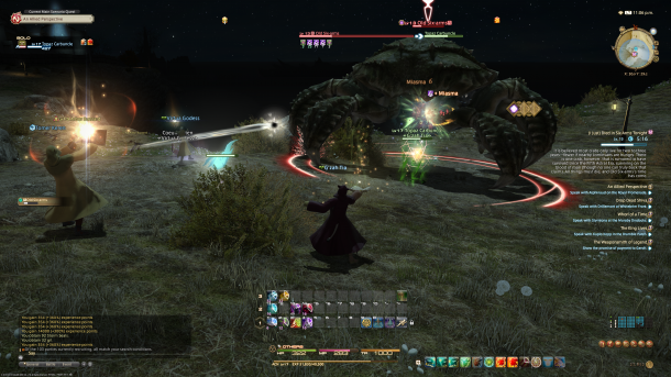 Final Fantasy XIV: The Latecomer Review - Mana Obscura